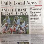 Check Out the West Band on Cover of Daily Local News!