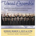 March 3 – CANCELLED – Downingtown East Vocal Ensemble Performance