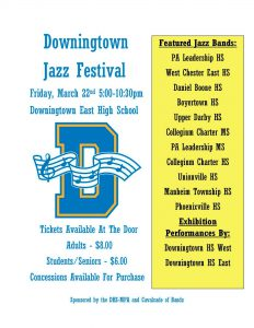 Jazz Fest @ Downingtown East High School